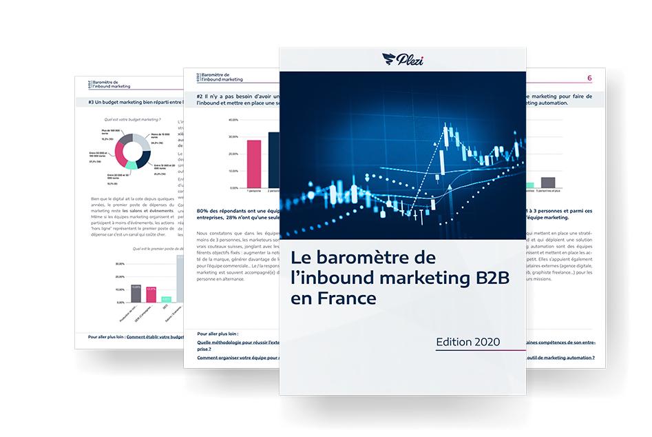 Baromètre de l'inbound marketing B2B en France - Édition 2020